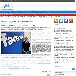 Comptez-vous quittez Facebook le 31 mai ?