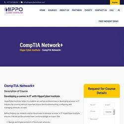 CompTIA Network+ - Hippo Cyber Institute