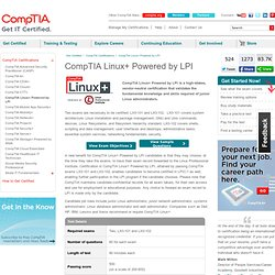 Linux+ Powered by LPI Certification