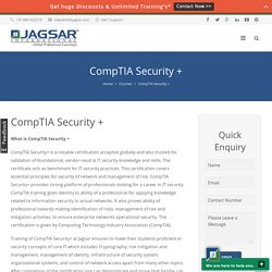 CompTIA Security + - Jagsar International