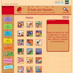 Comptines anglaises, chansons, histoires en anglais