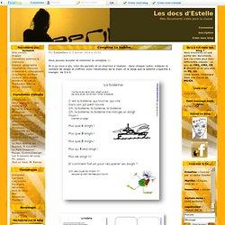 Comptines poèmes & chansons - Les docs d'Estelle