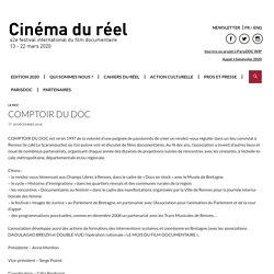 Comptoir du doc - Cinéma du réel