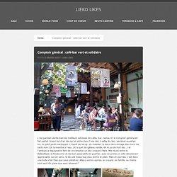 Comptoir général - café-bar vert et solidaire [Paris]