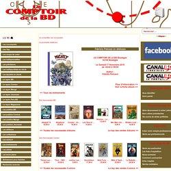 LE COMPTOIR DE LA BD, Une librairie du portail CANAL BD