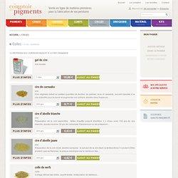 Comptoir des pigments