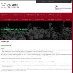 Comptoirs Modernes – Histoire du Commerce