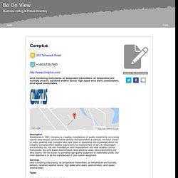 Comptus- Environmental Sensors