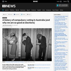 A history of compulsory voting in Australia (and why we are so good at elections)