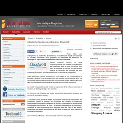 Adopter le cloud compunting avec Cloudwatt - Informatique-Magazine.fr