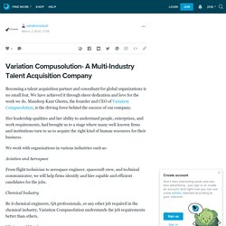Variation Compusolution- A Multi-Industry Talent Acquisition Company: variationsoluti — LiveJournal