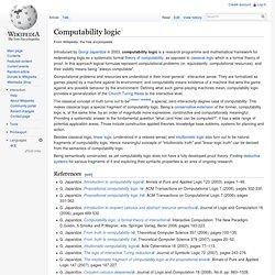 Computability logic
