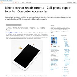 Computer Accessories: Samsung Tablet Parts Canada – Diagnose the Mobile Phone