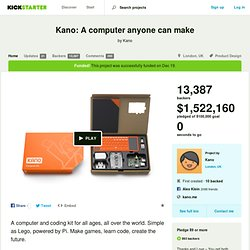 Kano: A computer anyone can make by Kano