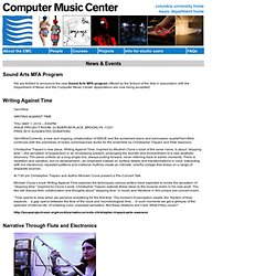 Computer Music Center at Columbia University