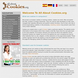 All About Computer Cookies - Session Cookies, Persistent Cookies,How to Enable/Disable/Manage Cookies