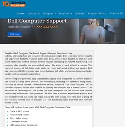 Dell Computer Customer Service and Online Phone Support