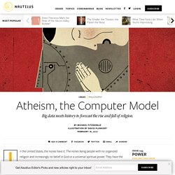 A Computer Forecast of Religion and Atheism