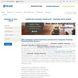 govt computer education franchise