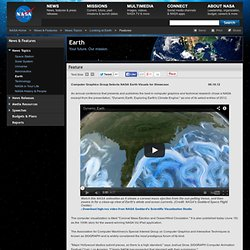 Computer Graphics Group Selects NASA Earth Visuals for Showcase