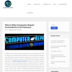 Computer Repair Greensboro