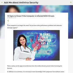10 Signs to Know if the Computer is Infected With Viruses