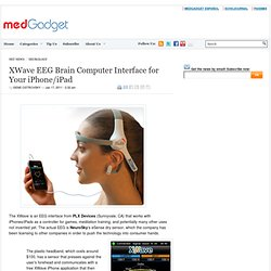 XWave EEG Brain Computer Interface for Your iPhone/iPad