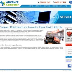 On-site Computer Repair Services Kellyville Laptop Screen Repairing