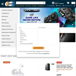 Computer Parts, PC Components, Laptop Computers, LED LCD TV, Digital Cameras and more!