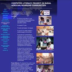 Alfabetització a zones rurals d'Àfrica