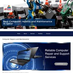 Computer Repairs and Maintenance in Qatar
