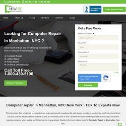 Computer Repair in Manhattan, NYC