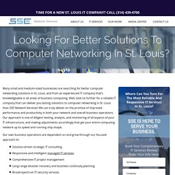 Computer Networking St. Louis
