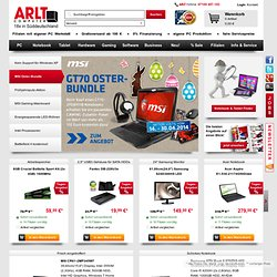ARLT Computer, PCs, Notebooks, Hardware, Software