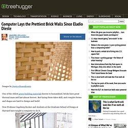 Computer Lays the Prettiest Brick Walls Since Eladio Dieste