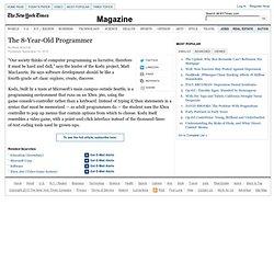 Kodu Offers Pop-Up Computer Programming for Children