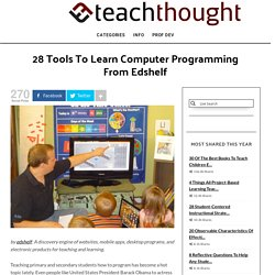 28 Tools to Learn Computer Programming From edshelf.