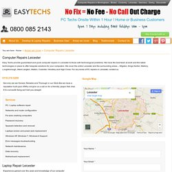 Computer Repairs Leicester