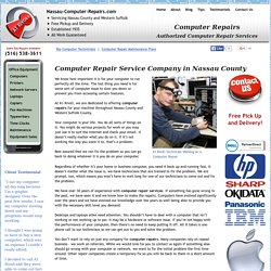 Computer Repairs Repair Service Company Nassau County NY