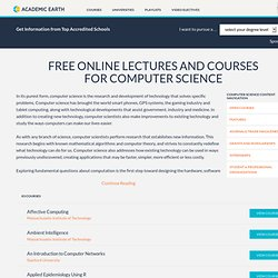 Academic Earth: Video Courses