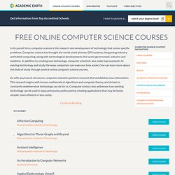 Video Courses on Academic Earth - StumbleUpon