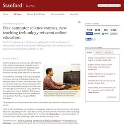 Free computer science classes online