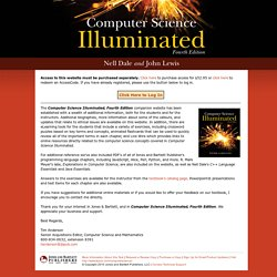 Computer Science Illuminated, Fourth Edition