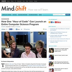 """How One """"Hour of Code"""" Can Launch an Entire Computer Science Program"""