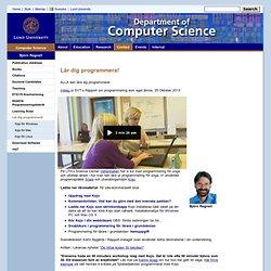 Computer Science: Lär dig programmera!