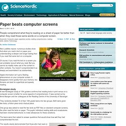 Paper beats computer screens