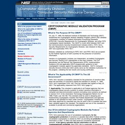 NIST.gov - Computer Security Division - Computer Security Resource Center