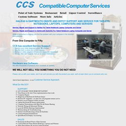 Computer Repair Services in Halifax and Dartmouth