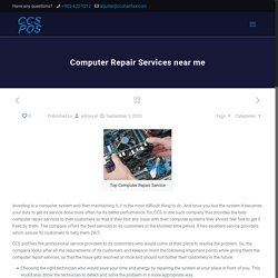 Computer Repair Services near me