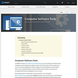 Computer Software Tools